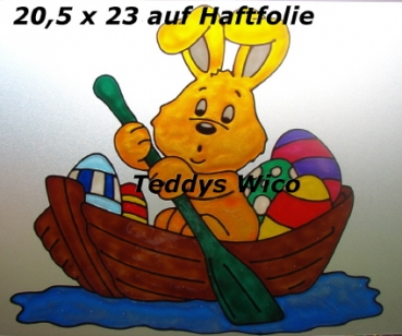 Hase im Boot